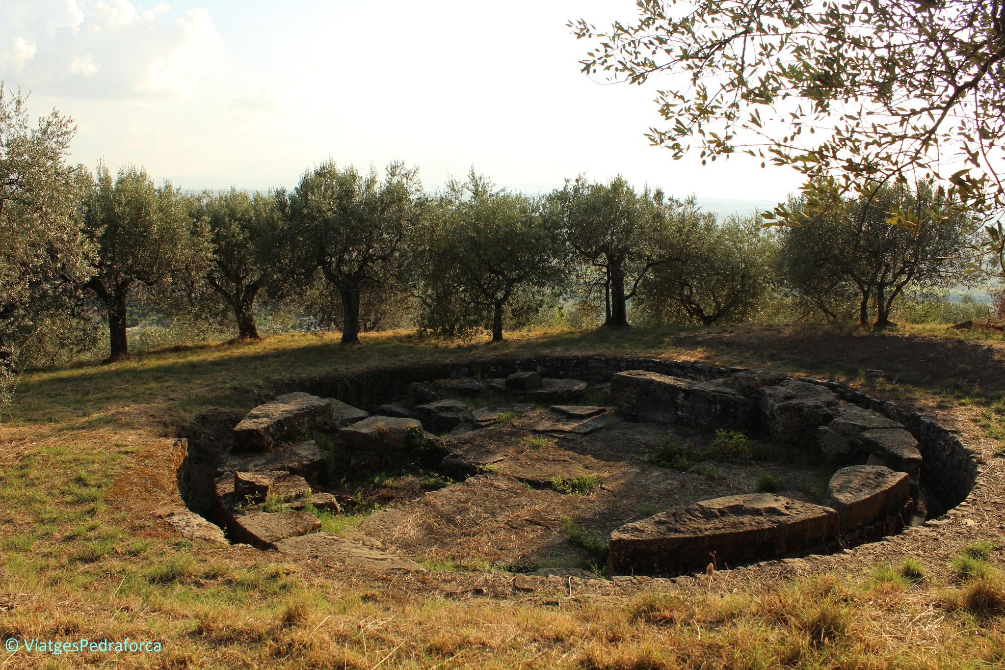 Etruscs, arqueologia, Toscana, Itàlia