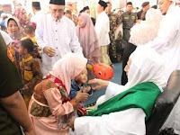 Ribuan Umat Islam Hadiri Open House Habib Luthfy bin Yahya