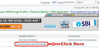how to link pan card with sbi bank account online in hindi