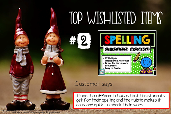 Read all about the top wishlisted items at It Happened in 3rd!