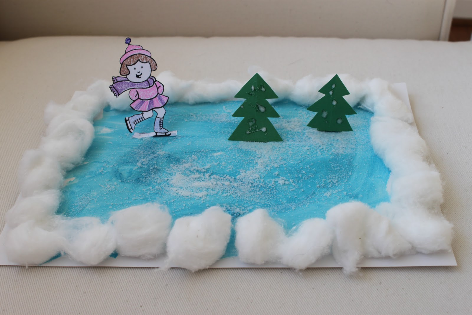 Snowflake Crafts For Toddlers