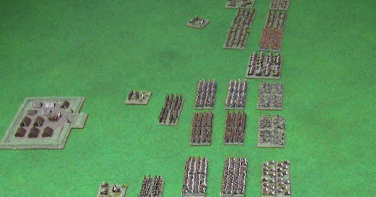 Finally fnished - 6mm Punic Wars Roman army
