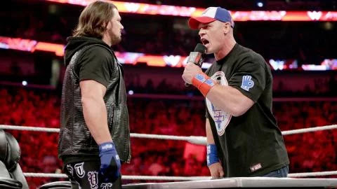 It's John Cena Vs. AJ Styles - A Fantasy Match Turning Into Reality This Sunday At MITB 2016.