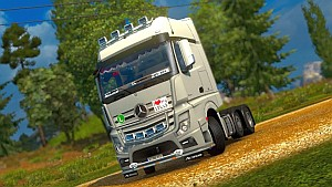 Mercedes Actros MP4 0.5 by taina95