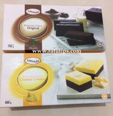 Brownies Amanda Original vs Brownies Cheese Cream, Manakah yang Lebih Enak?
