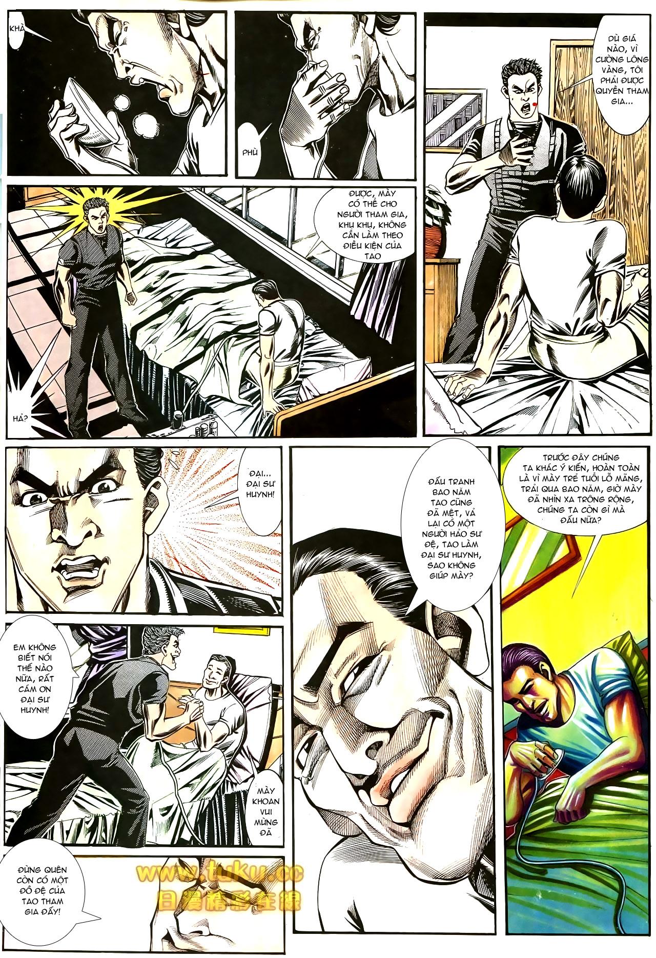 Người Trong Giang Hồ chapter 187: huynh đệ tình trang 7