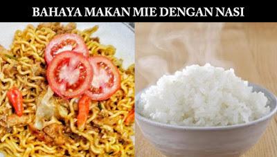 Bahaya Makan Mie dengan Nasi, Fakta Sebenarnya