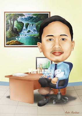 kartun manager