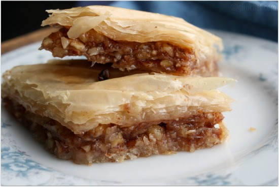 <b>Baklava</b> ...inspired by My Big Fat Greek Wedding <i>{Food 'n Flix}</i>