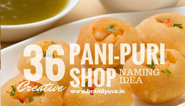 panipuri golgappa shop names idea