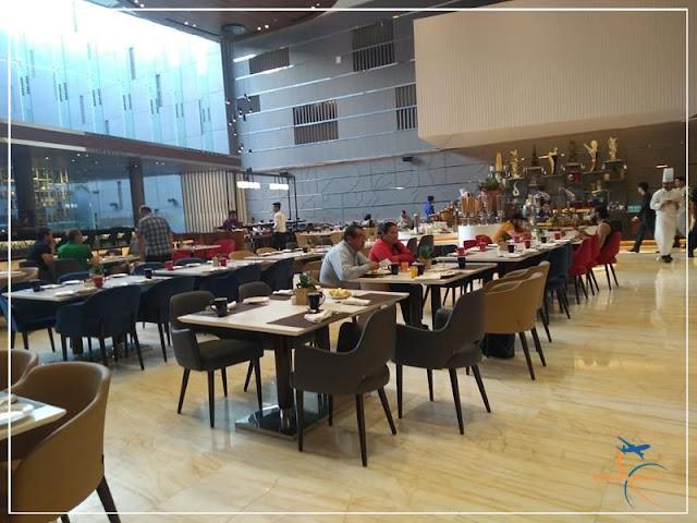 Café da manhã nos hotéis da Índia