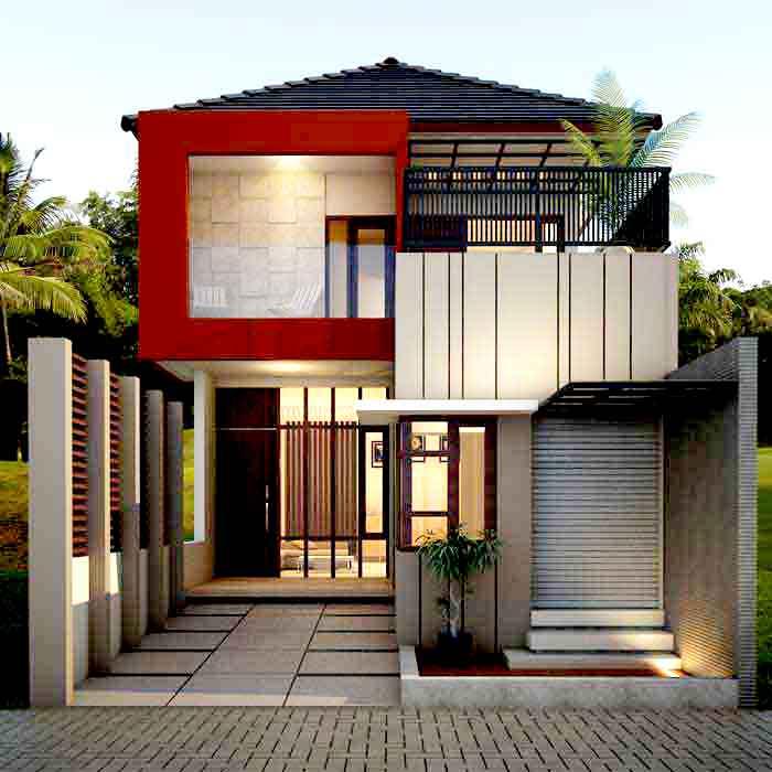 Desain Rumah Minimalis Type 80 Terbaru Modern Masa Kini