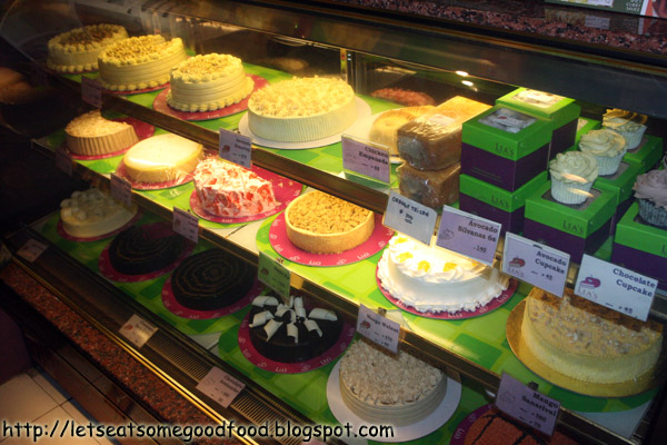 Cake+Display - Avocado Cake, Etc - Lia's Cakes In Season