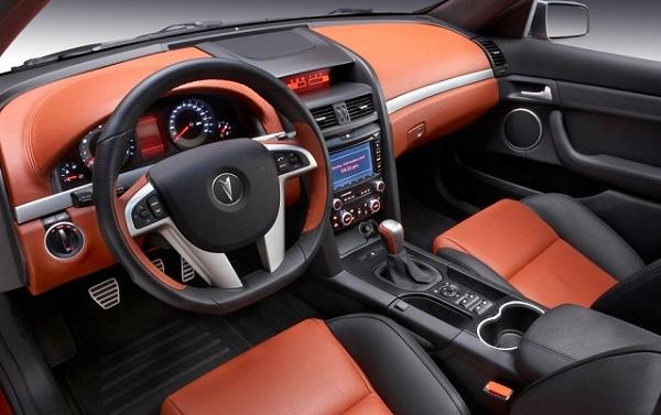 2016 Pontiac GTO interior