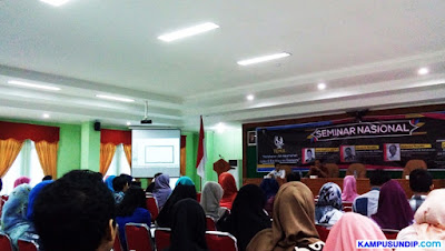 "Seminar di Undip, Komisi I DPR RI : Kita Korban ""Proxy War"""