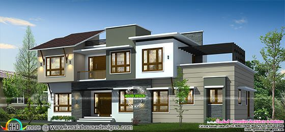 2914 square feet 4 bedroom contemporary home