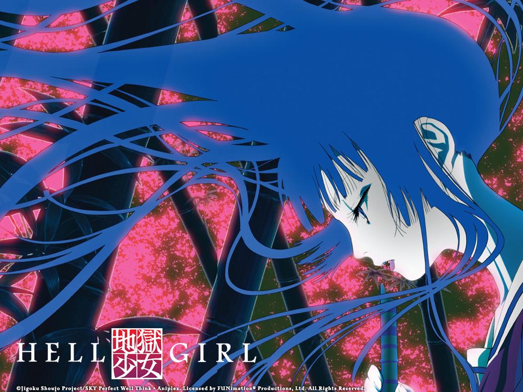 Forbidden Forest Hell Girl 地獄少女 Jigoku Shōjo Anime Wallpaper