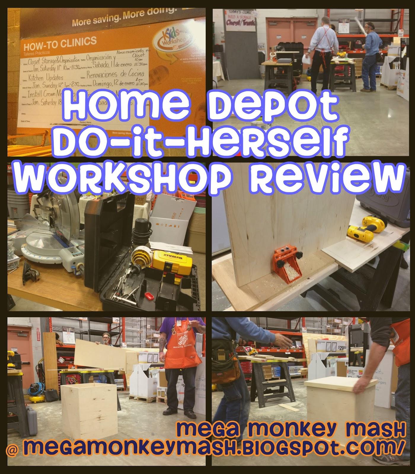 Mega Monkey Mash Home Depot Do It Herself Class Review