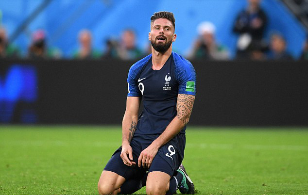 Giroud inginkan gol pertamanya di Piala Dunia 2018