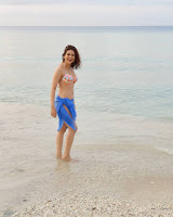 Shraddha Das Hot Stills in Bikini HeyAndhra.com