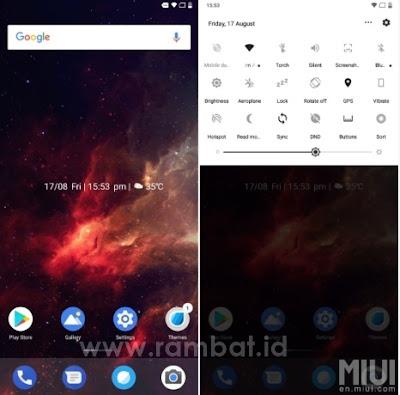 Tema Xiaomi MIUI 8 / MIUI 9 Terbaik dan Populer - ONE