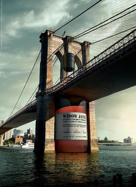 Widow Jane's Brooklyn Bridge Advertisement