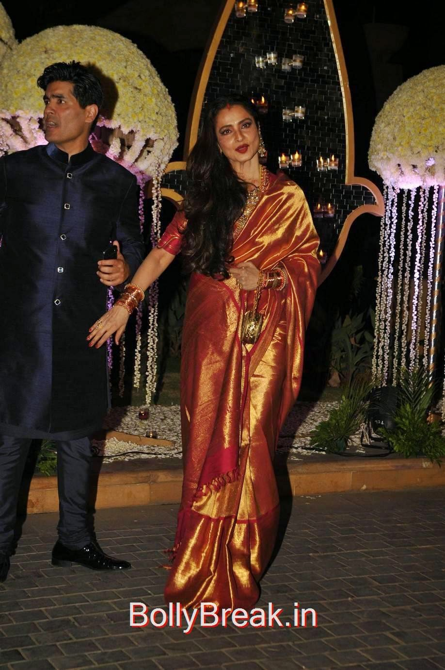 Hot Hd Images Of Rekha In Saree From Riddhi Malhotra -9796