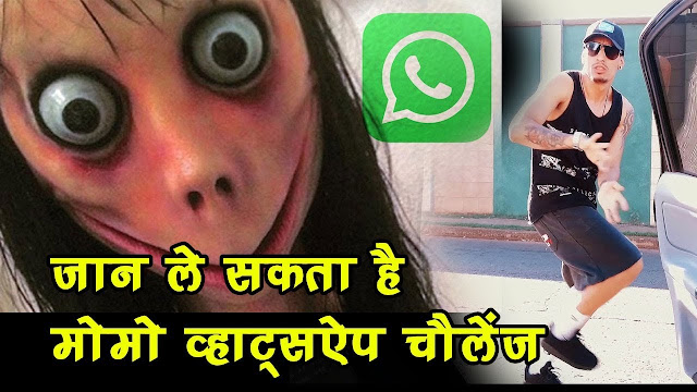 Killer Momo challenge information and safety precautions
