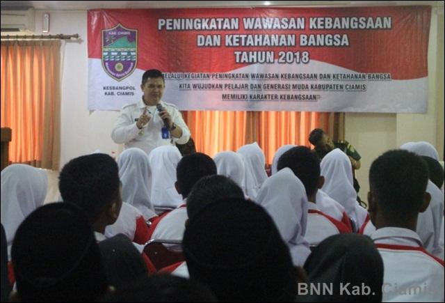 BNN Bekali Wawasan Bahaya Narkoba pada Pelajar dan Generasi Muda