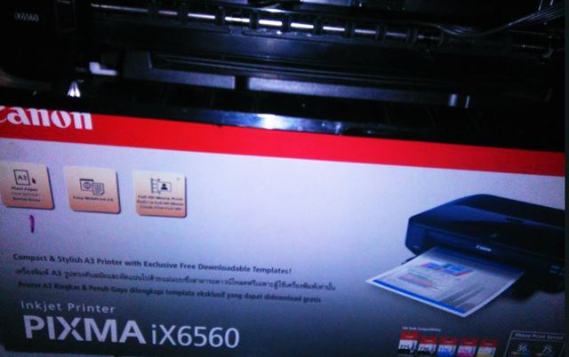 Printer Canon A3 PIXMA iX6560