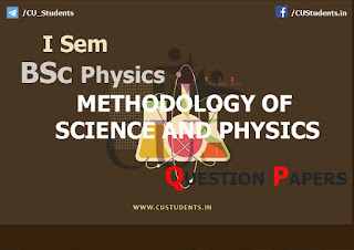 BSc Physics Methodology of Science and Physics  Previous Question Papers