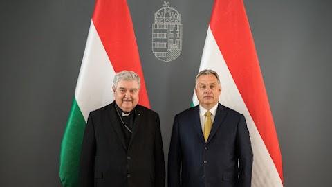 A magyar kormányfő a gyulafehérvári érsekkel tárgyalt