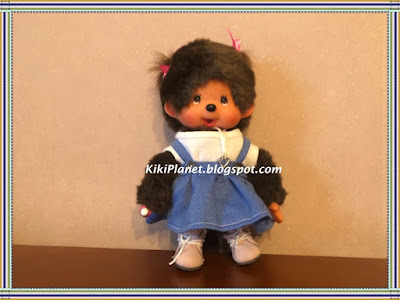 kiki monchhichi vêtement jupe poupée doll, clothes sewing handmade fait main