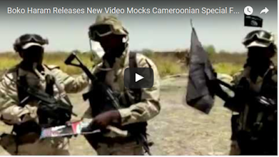 Boko Haram Releases New Video Threatening to Behead Cameroonian President [video]