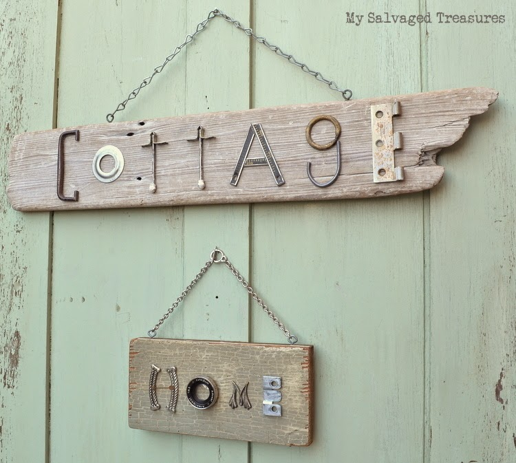 Cottage Home Junk Signs