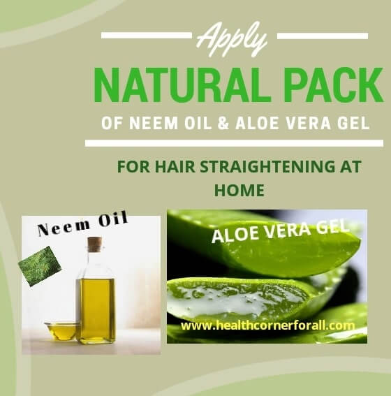 Ingredients for Hair Straightening Naturally At Home