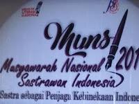 Catatan Kecil Musyawarah Nasional Sastrawan Indonesia (Munsi) 2017 #Bagian 1