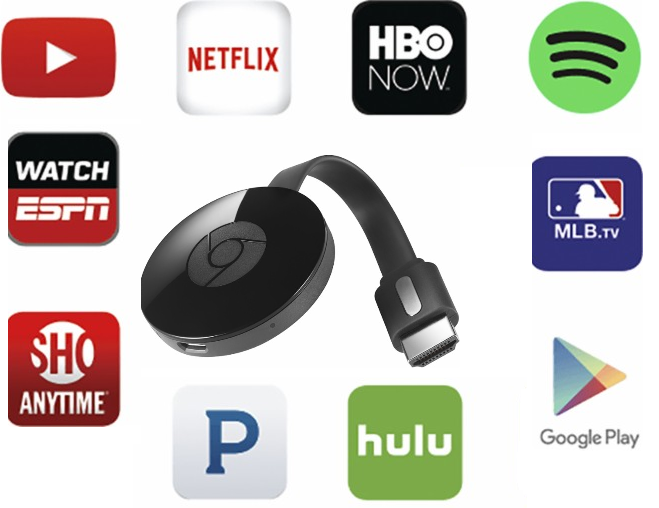 Google Chromecast TV Streaming Device $20 (Reg $35) + Free Store Pickup at  Walmart. Basically turns your TV into a smart TV where you will be able to  steam ...