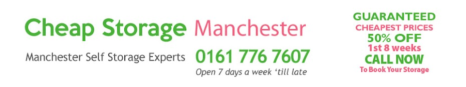 Cheap Storage Manchester