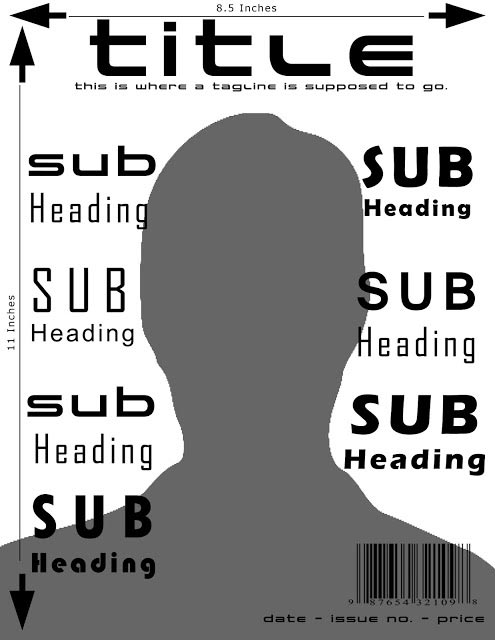 Magazine Cover Design Features