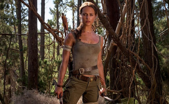 Alicia Vikander dans Tomb Raider de Roar Uthaug (2018)