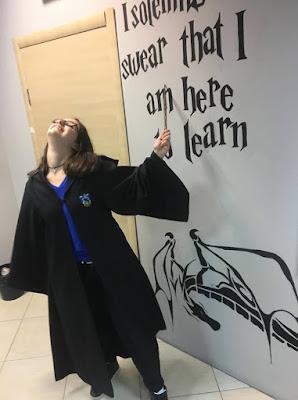 Хари Потър класна стая в образователен център Британика