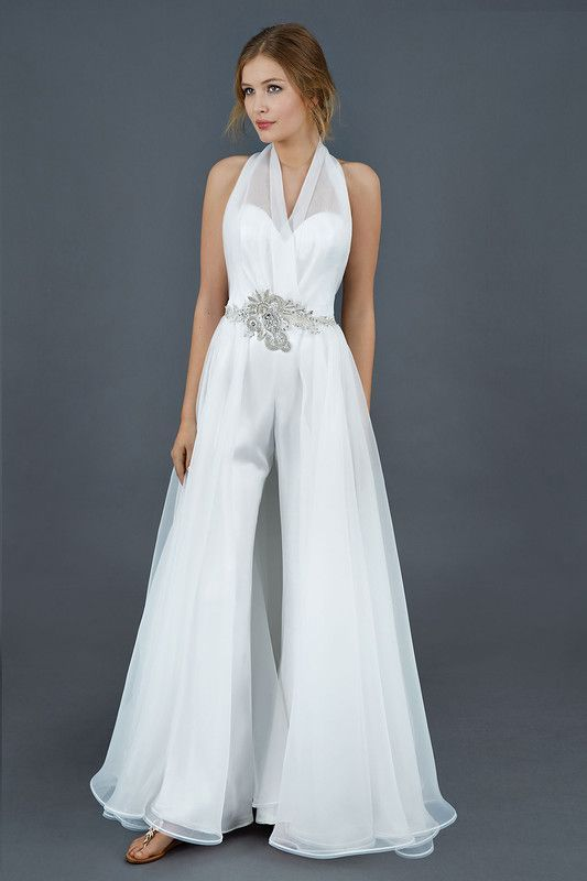 Simple And Elegant Halter Neck Jumpsuits Image 11