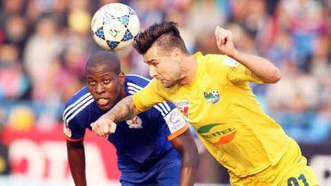 Van Bakel đã thực sự tỏa sáng khi thi đấu tại V.League