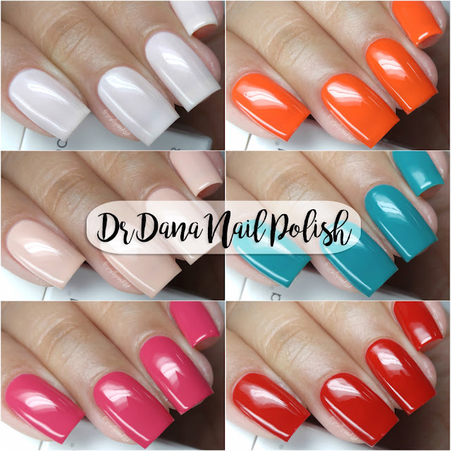 Dr. Dana Beauty Nail Polish | Swatches & Review