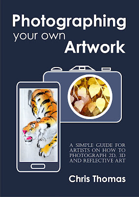 Book Cover of Photographing your Artwork
