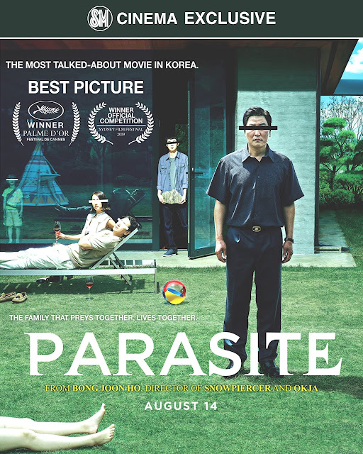 SM Cinema Exclusively Releases Award-Winning Korean Film PARASITE Starting August 14, 2019