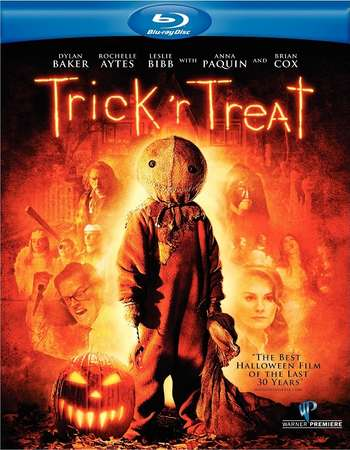Poster Of Trick 'r Treat 2007 Dual Audio 720p BRRip [Hindi - English] Free Download Watch Online