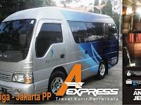 Jadwal Travel A-Express Salatiga - Jakarta PP