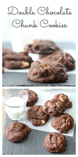 Double Chocolate Chunk Cookies from Karen's Kitchen Stories